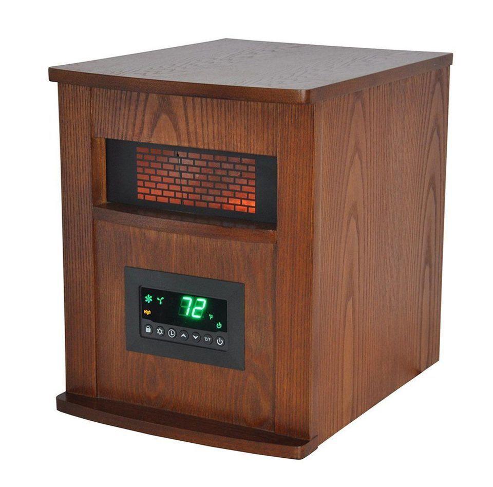 Best Radiant Heater: Lifesmart 6-Element Large Room Infrared Quartz Heater