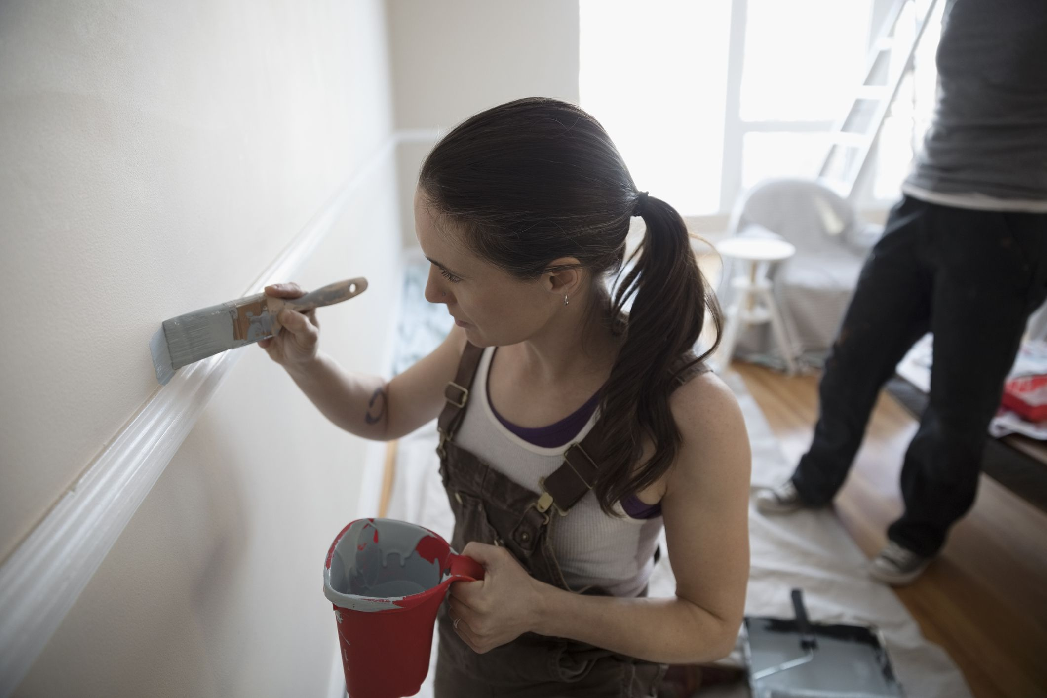 Painting Without Tape How Cutting In Can Save Taping