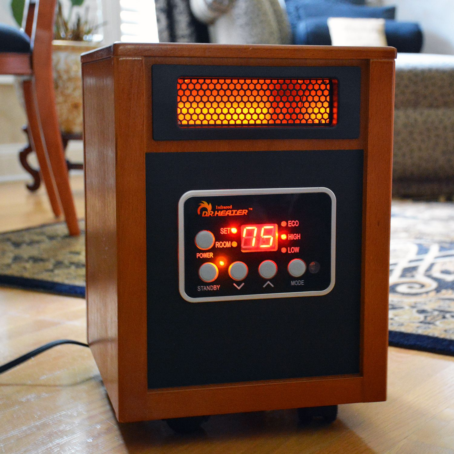 Electrical Home Design Ideas: Dr. Infrared Heater Portable Space Heater Review