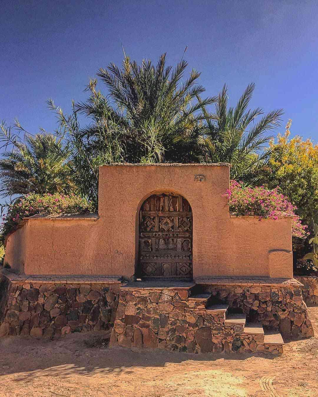 Morocco clay building