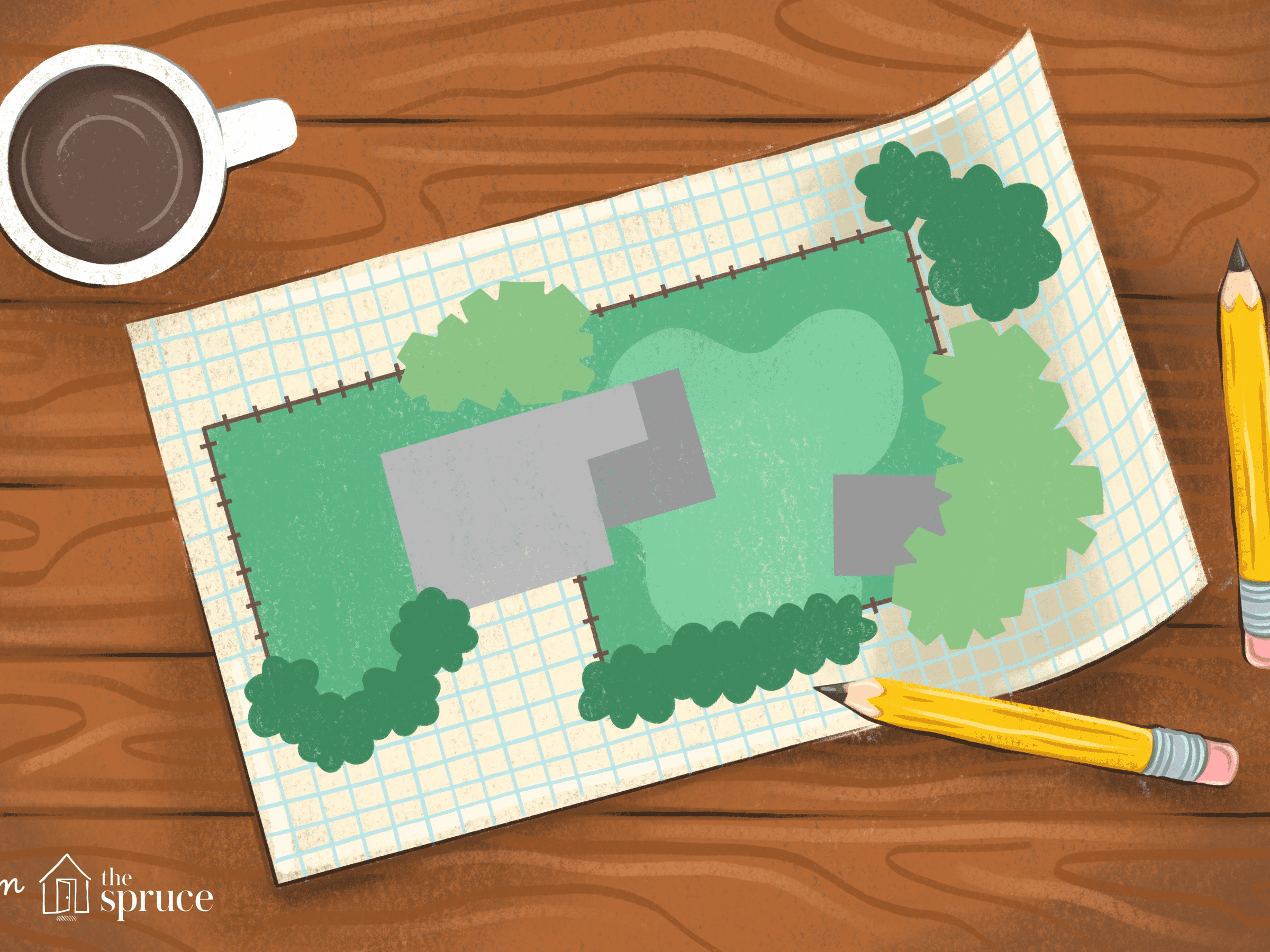 How To Draw Landscape Plans Help For Beginning Diy Ers