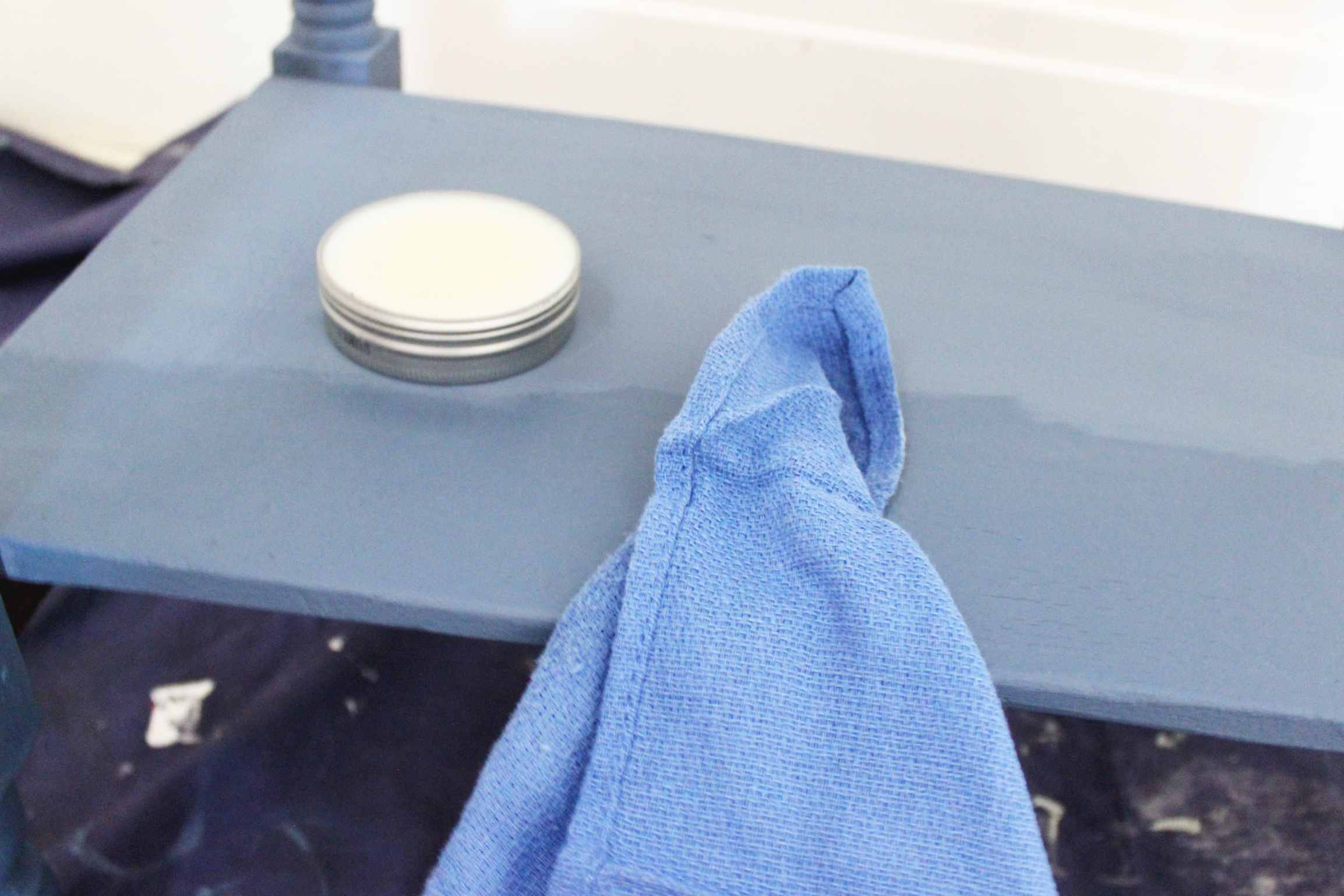 wax finish for chalk paint