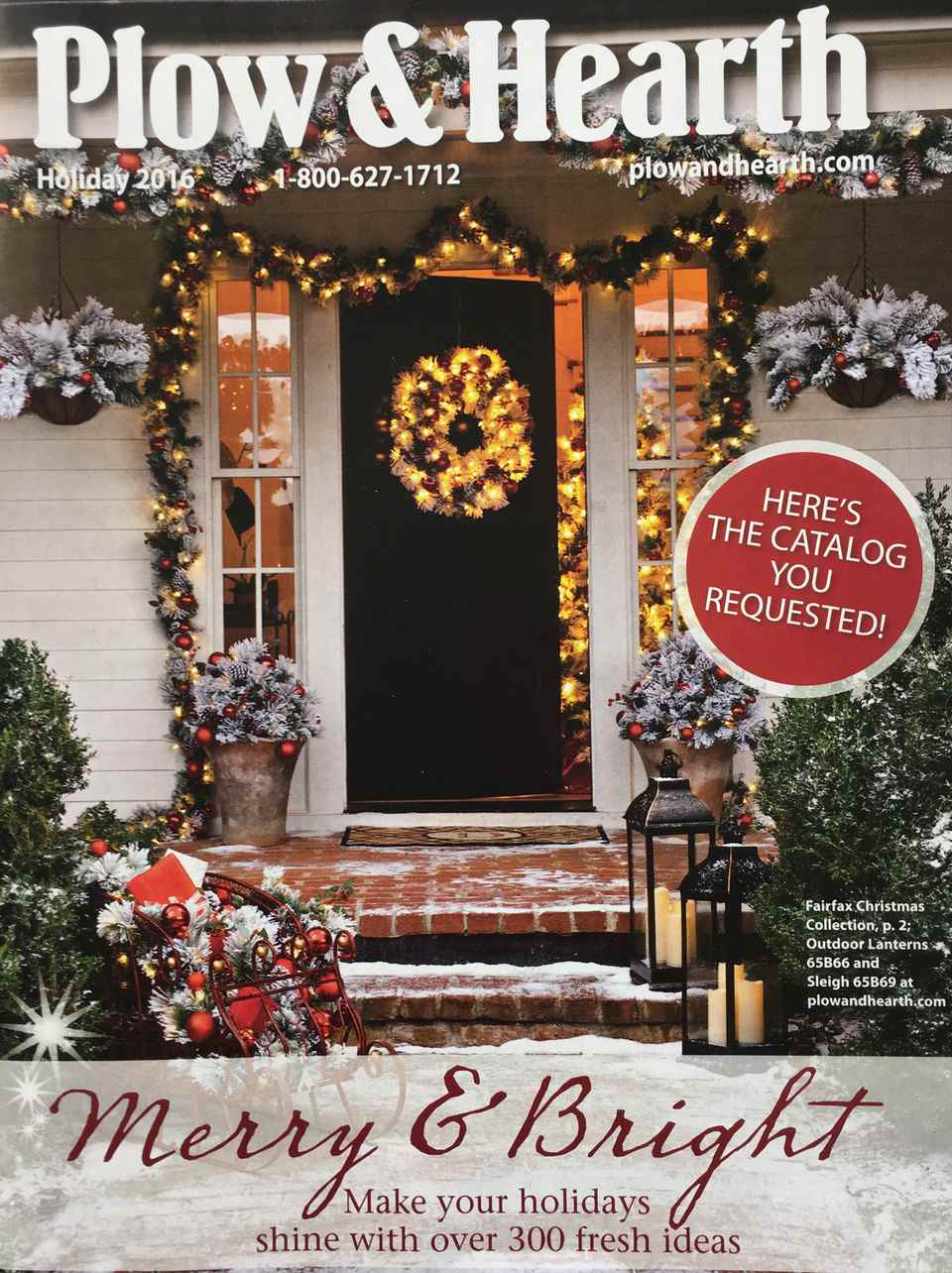 hearth plow catalogs mail holiday upscale