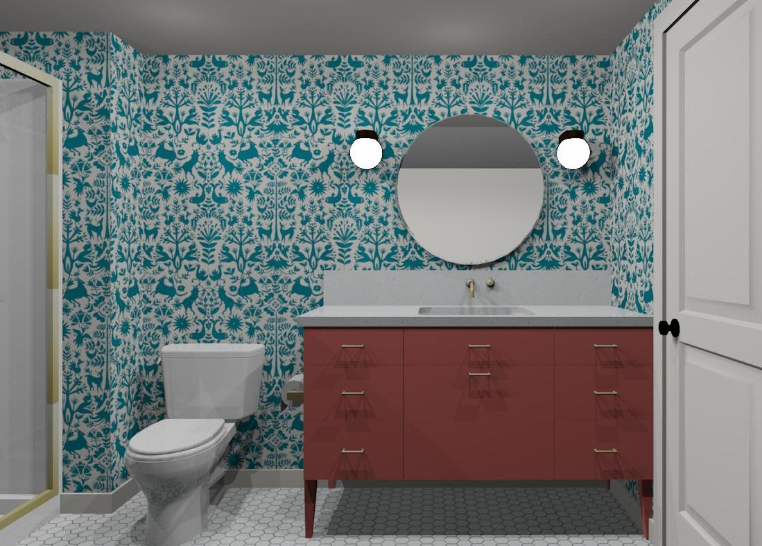 WitDelight Bathroom Remodel After