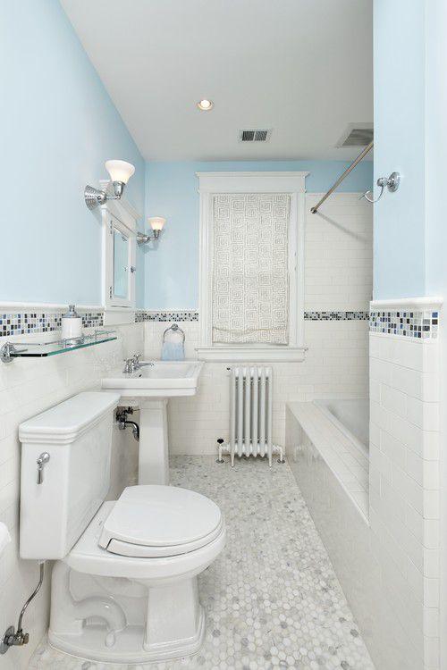 16 beautiful bathrooms with subway tile - Subway Tile Bathroom Ideas