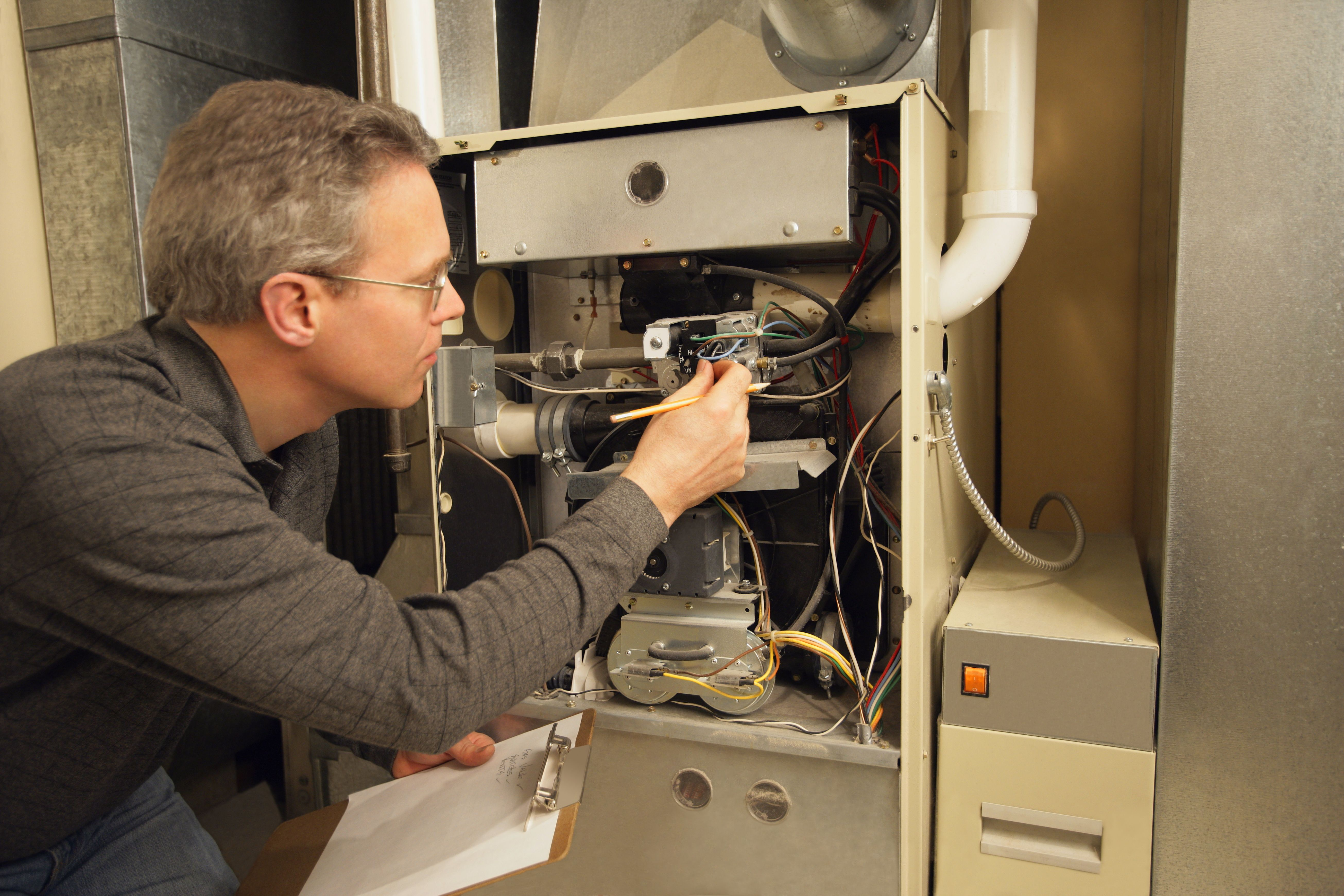 How to Light the Standing Pilot on a Gas Furnace