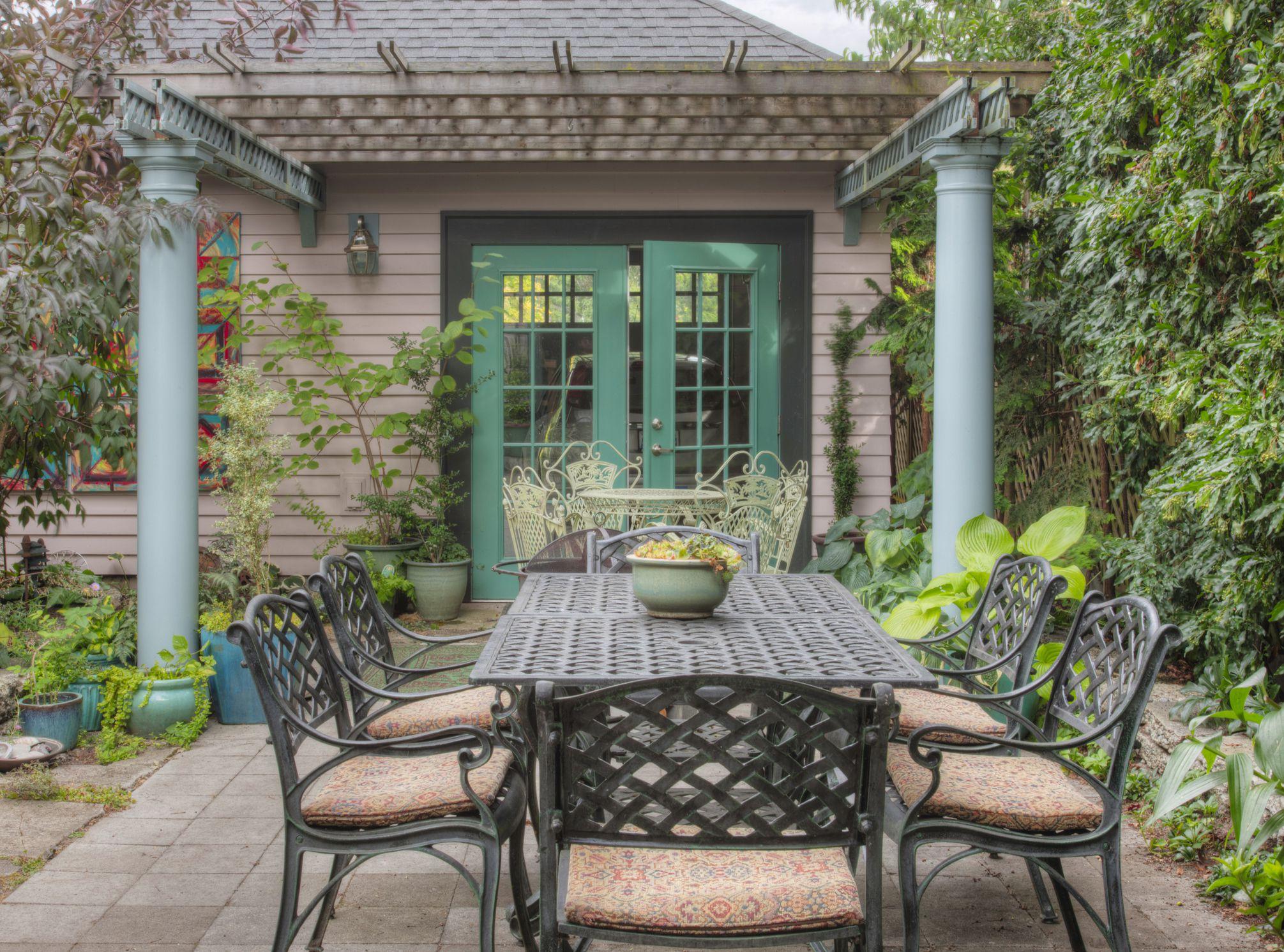 25 perfect pergola design ideas for your garden - Outdoor patio design ideas ...
