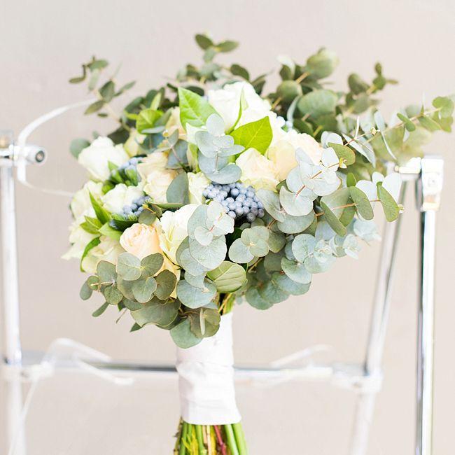 Blueberry Summer Wedding Bouquet