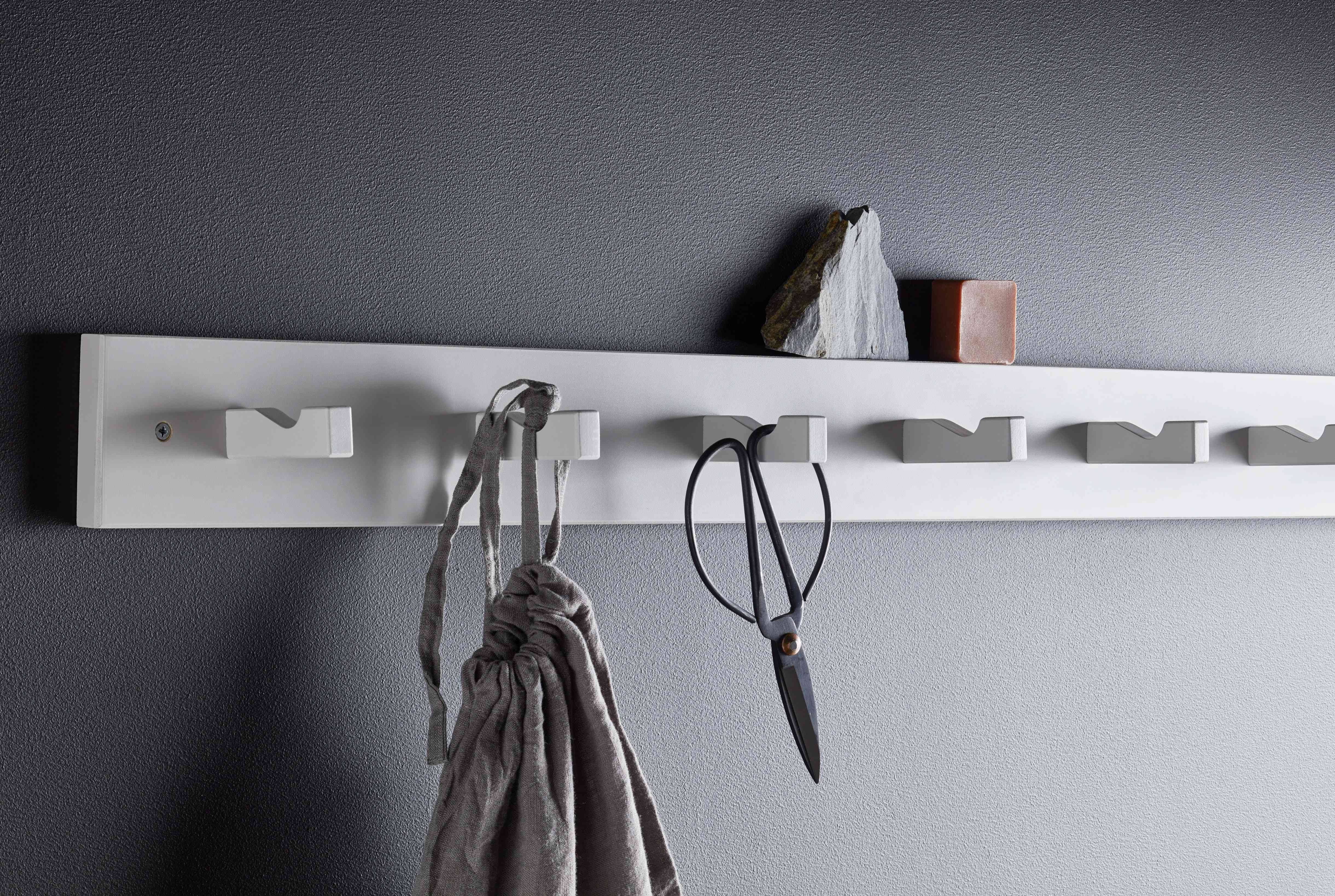 IKEA KUBBIS Rack With 7 Hooks, Gray