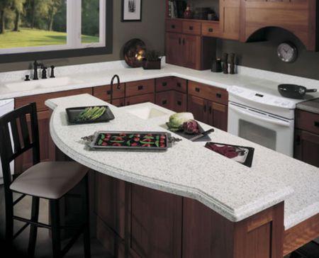 Wilsonart Bluestone Solid Surface Counters
