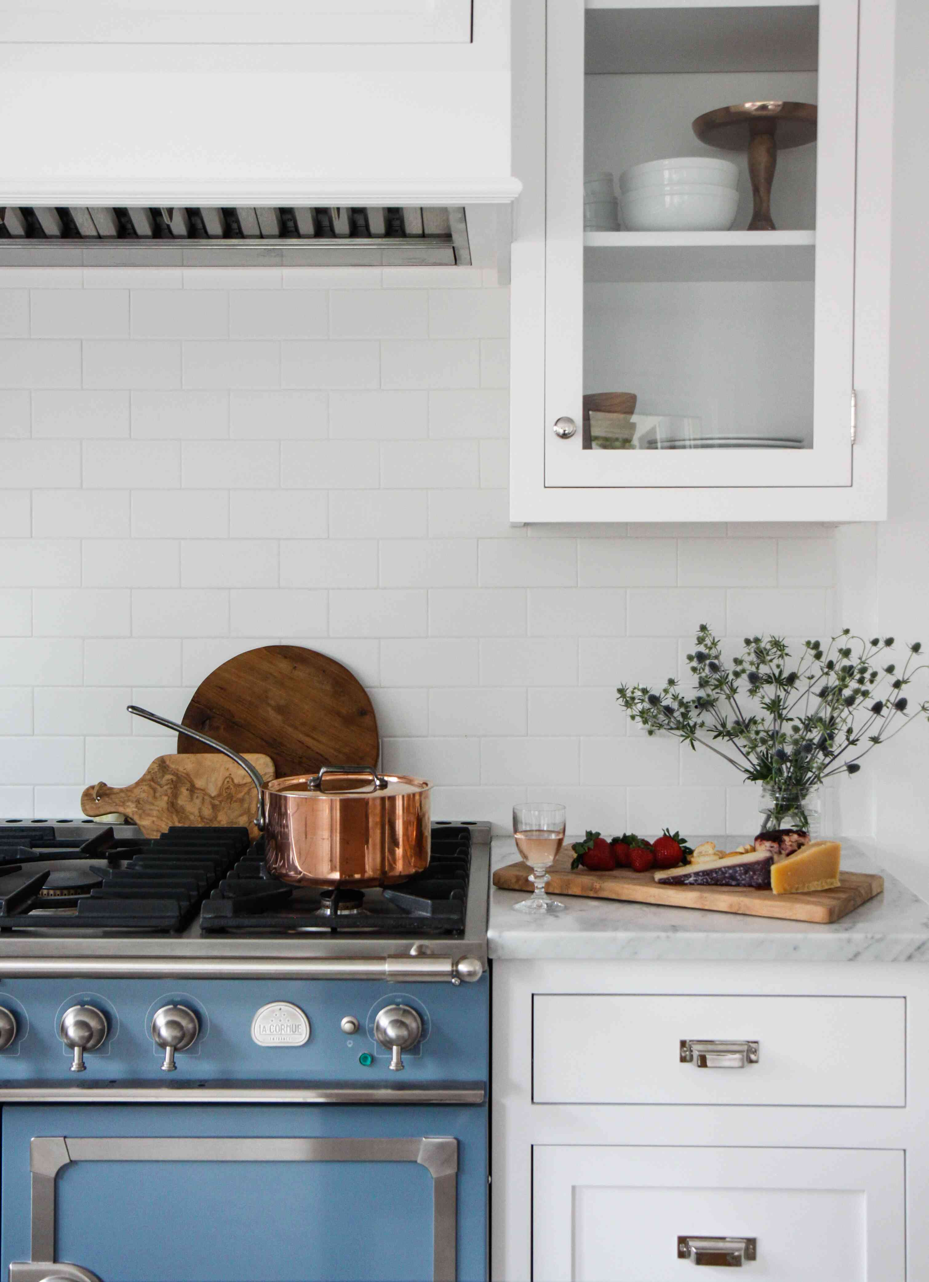 purposeful decorating in a kitchen