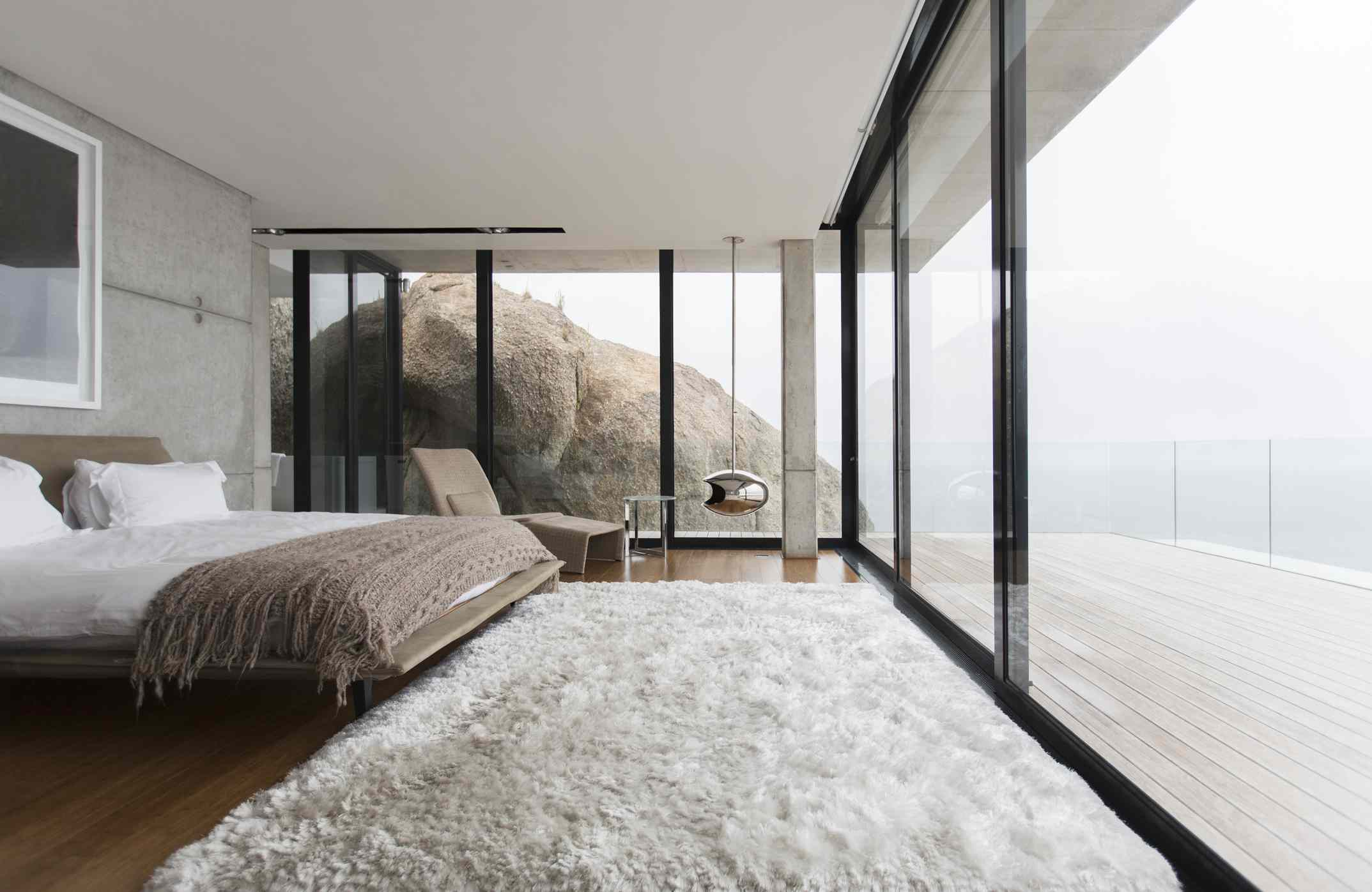 neutral and earthy bedroom