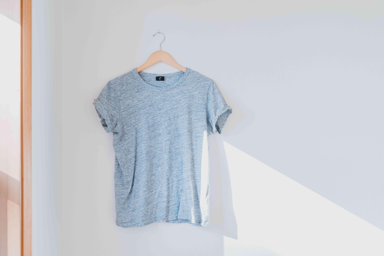 shrunken tee shirt