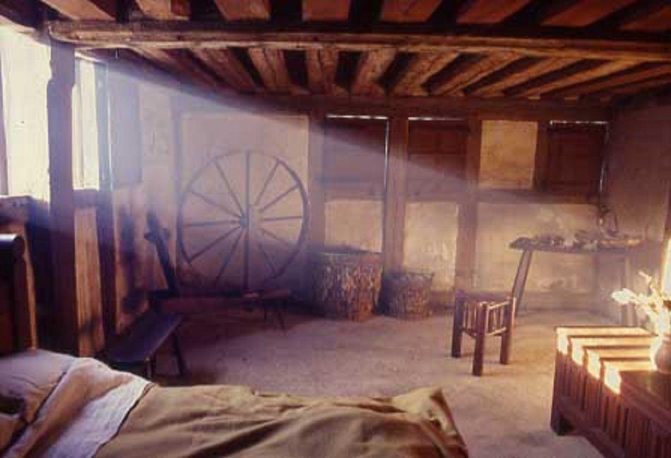 Medieval peasant bedroom
