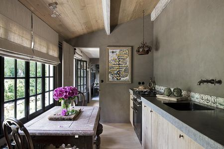 Natural Light In Kitchen And Dining Space