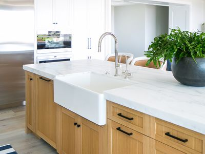 hero marble countertops in modern kitchen