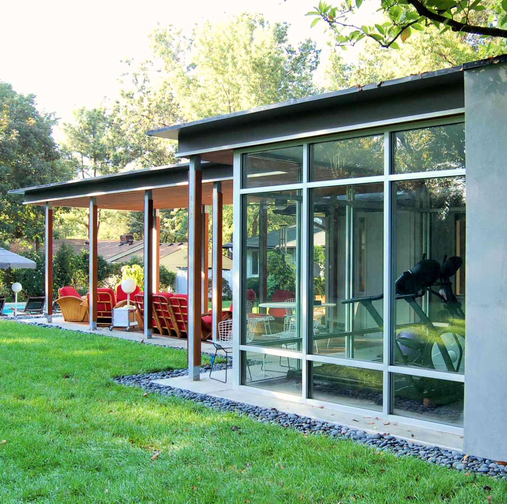 midcentury modern landscape design