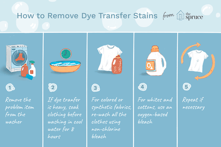 How To Remove Laundry Dye Stains