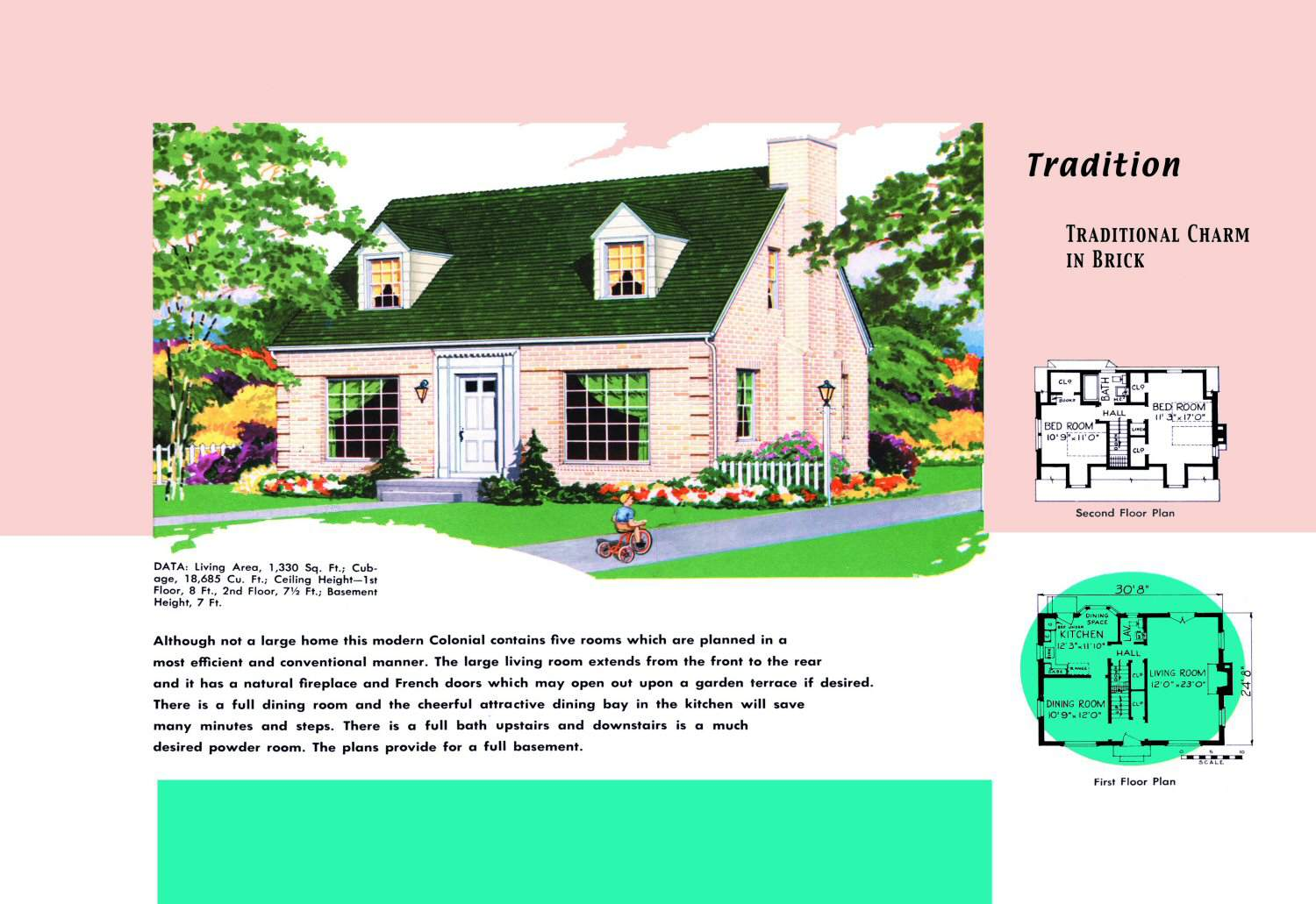 l shaped ranch house plans, original levittown house floor plans, 1945 house plans, cape cod cottage plans, on 1948 cape cod house plans