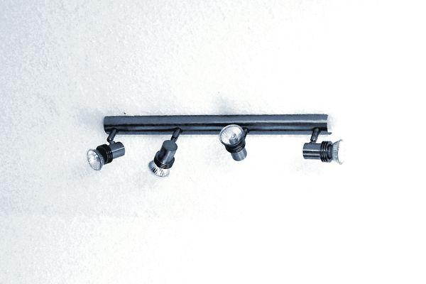 A set of track lights