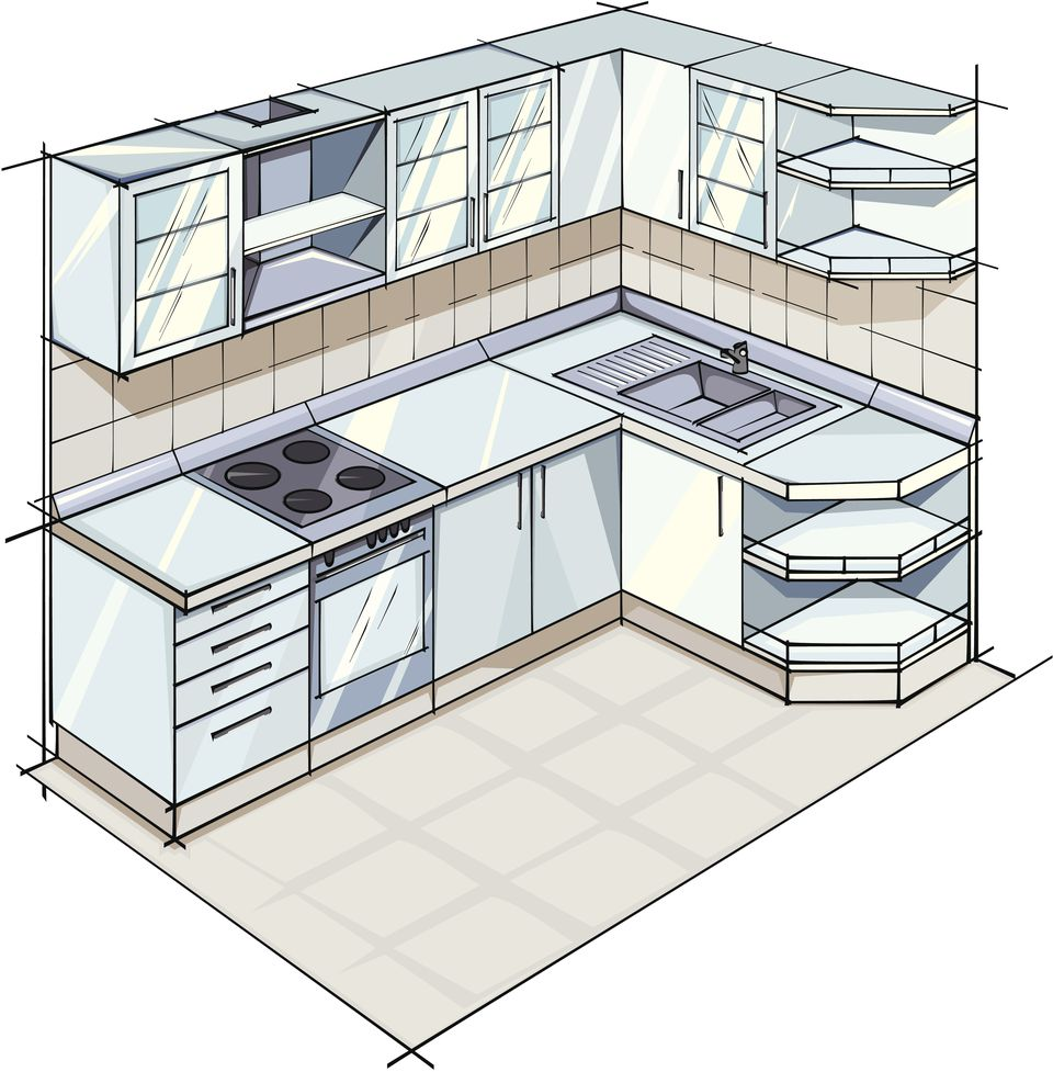 Kitchen Plan L Shaped Layout: L-Shaped Kitchen Layouts