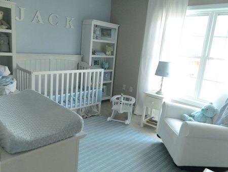 A Baby Blue Nursery