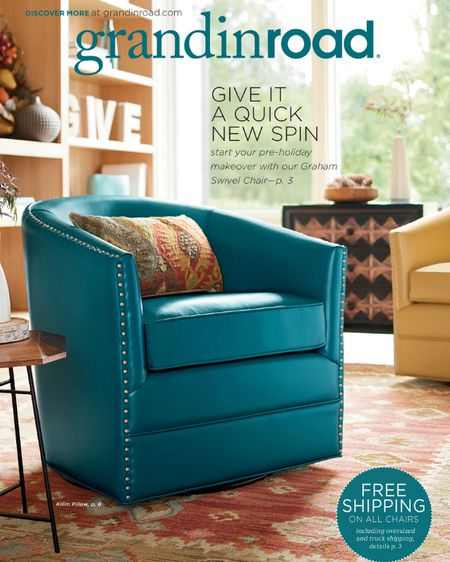 request a free grandin road catalog