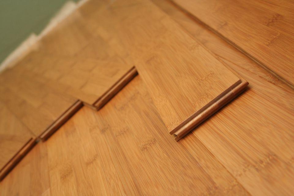 Piso de madera dura de bambú