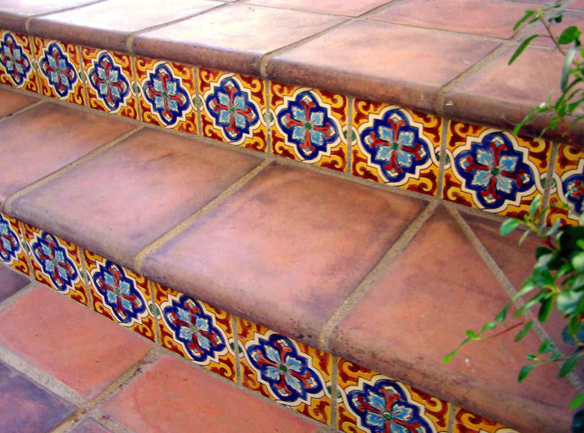 saltillo tile steps