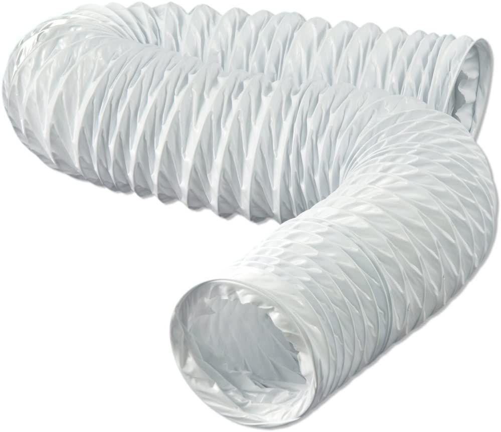 Plastic dryer duct