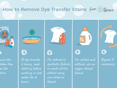 How to Remove Ink, Wax, or Dye from Washer or Dryer