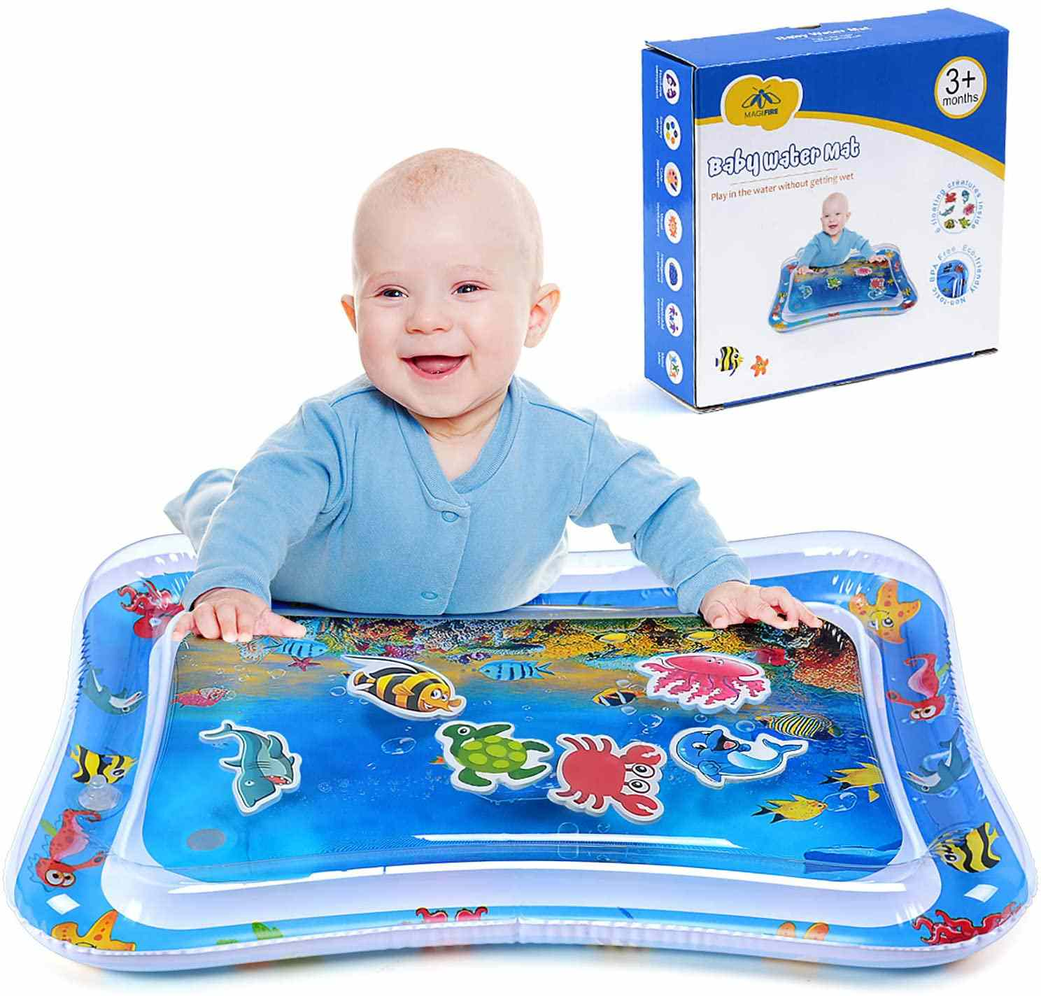 MAGIFIRE Tummy Time Baby Water Mat