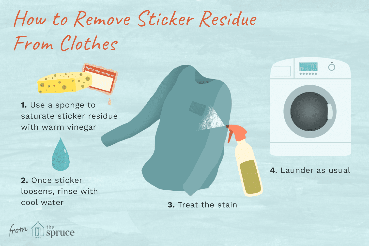 How to Remove Sticker Residue from Clothes, Upholstery