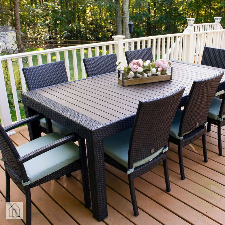 RST Brands Deco 9-Piece Patio Dining Set
