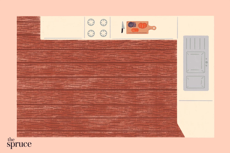 apartment-sized kitchen