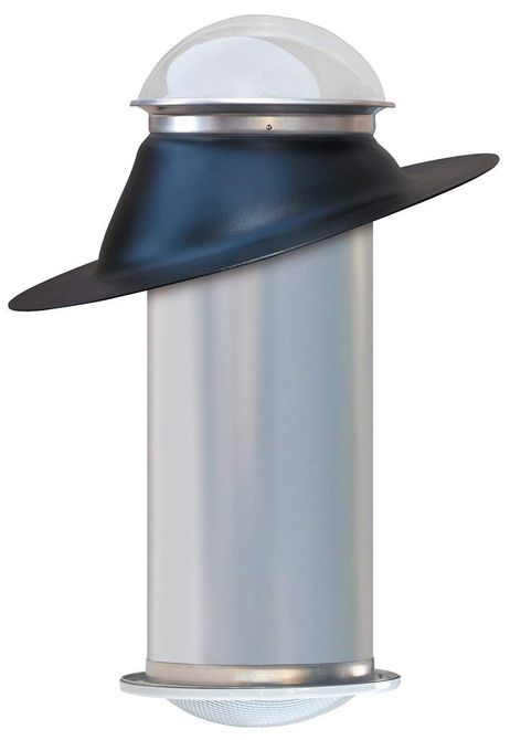 Tragaluz tubular de 10 pulgadas de Natural Light Energy Systems - Iluminación de paisaje