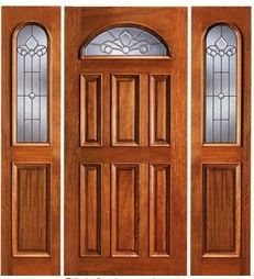 Majestic Exterior Door in Brazilian Mahogany