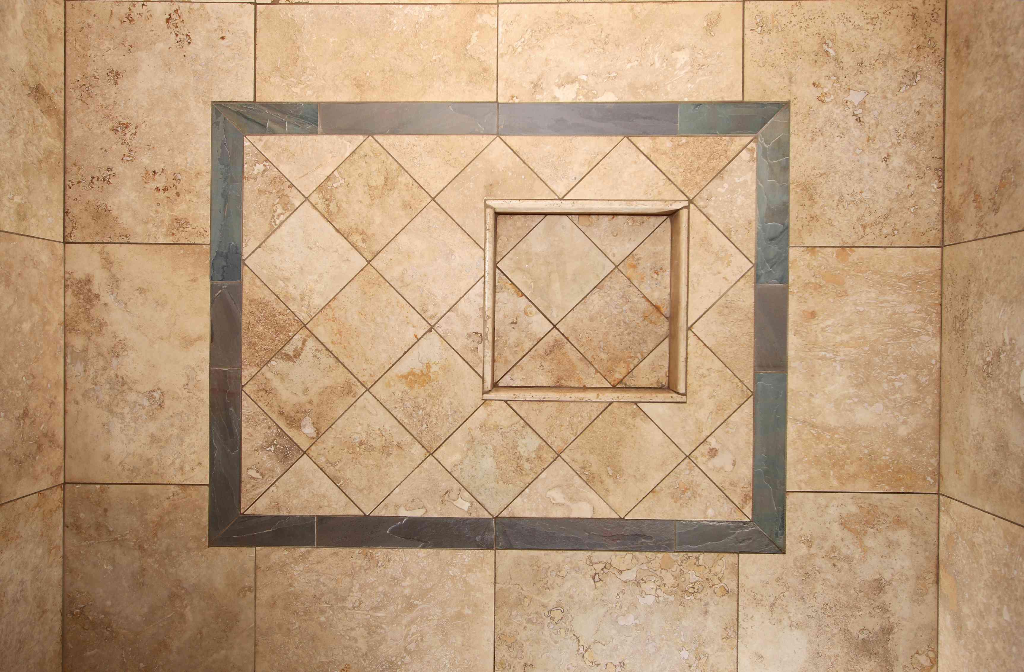 Bathroom Remodel Series 8: Travertine & Slate