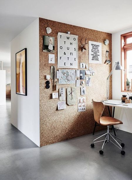 8 Unique Ways To Decorate With Cork In