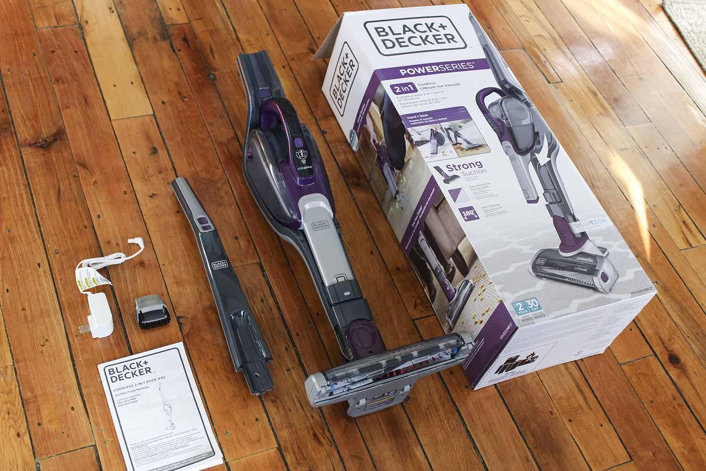Black+Decker vacuum