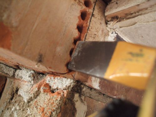 Cutting Out Brick Dividers