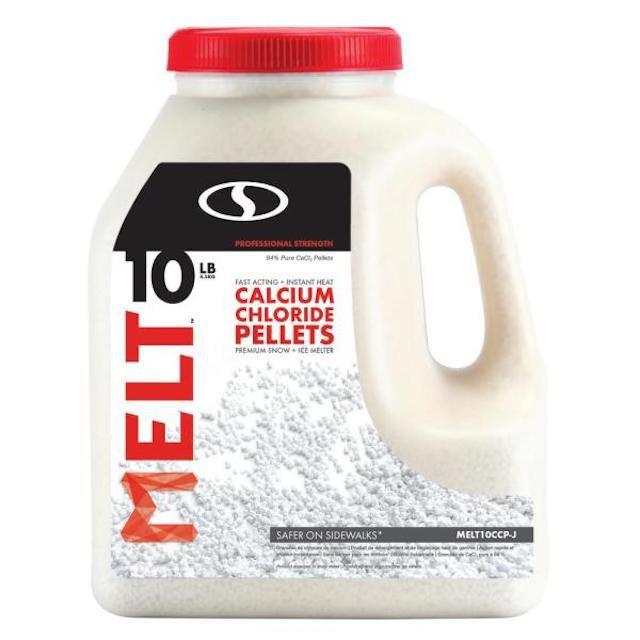Melt Calcium Chloride Pellets Premium Snow + Ice Melter