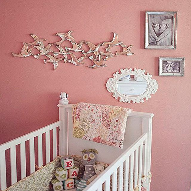 Vintage Inspired Classic Soft Pink Nursery: 15 Perfect Paint Colors For Girls