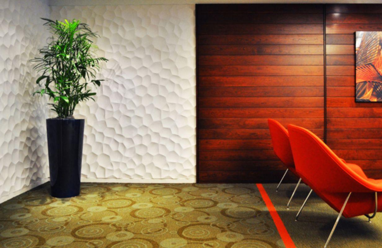 Paneles de pared modernos con textura de Zelle