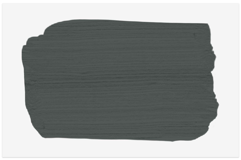 Valspar Black Evergreen color swatch