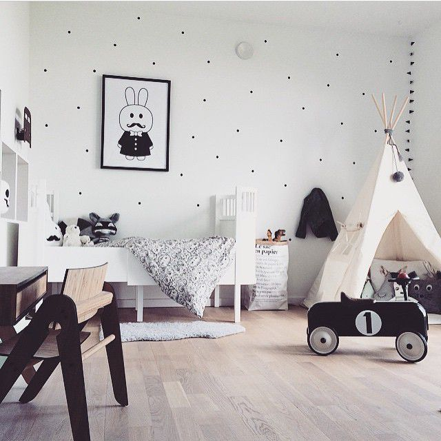 Scandinavian Baby Nursery: The Nordic Nursery: Kids Rooms With Scandinavian Style