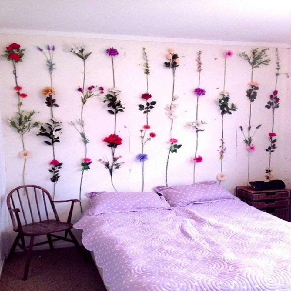 Creative No-Paint DIY Bedroom Wall Ideas
