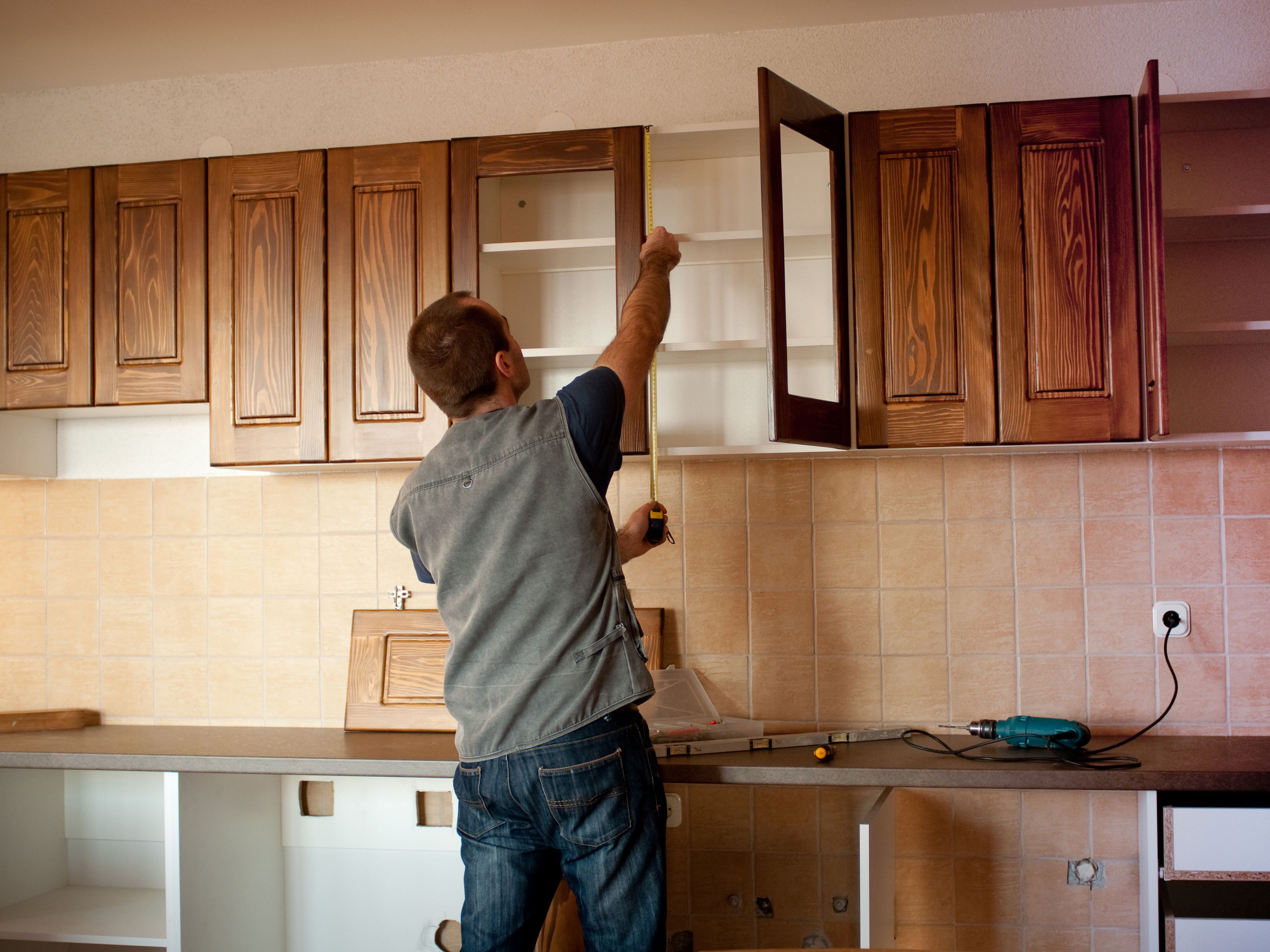 Guide to standard kitchen cabinet dimensions