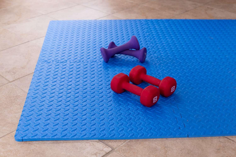 Yes4All Interlocking Exercise Foam Mats