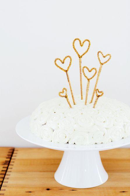 adorno de pastel para año nuevo